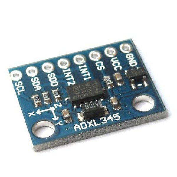 Módulo Acelerômetro 3 Eixos ADXL345