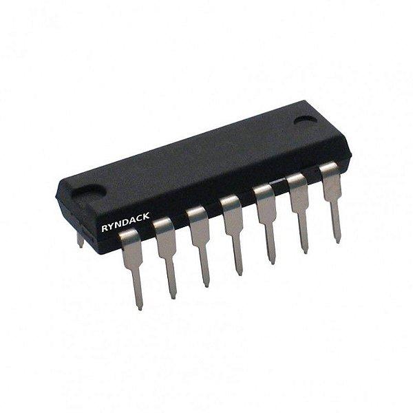 74HC10 - CI Porta Lógica NAND Tripla