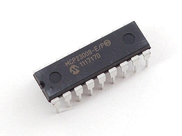 MCP23008 - CI Expansor de Porta Entrada/Saída I2C