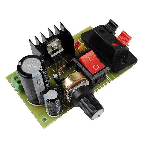 Kit Fonte Ajustável LM317 DIY