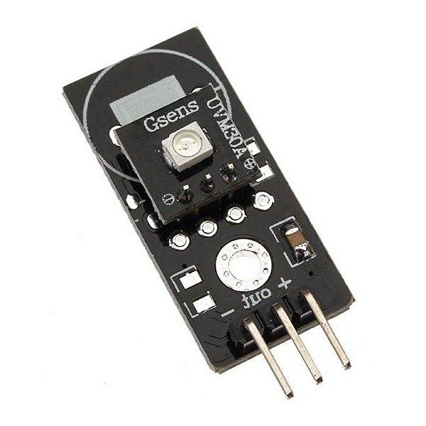 Módulo Sensor de Raios Ultravioleta UVM-30A