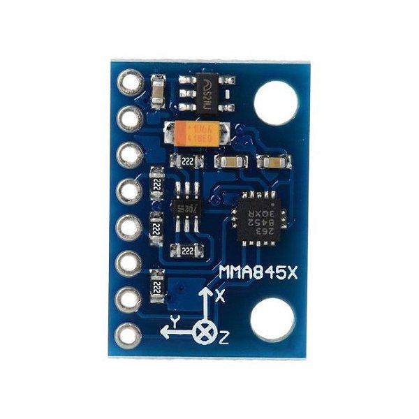 Módulo Acelerômetro 3 Eixos MMA8452