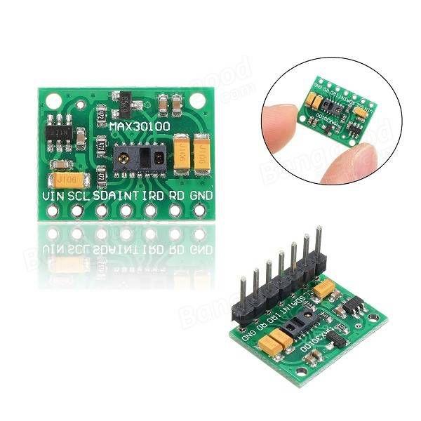 Módulo Sensor Oxímetro e de Batimentos Cardíacos MAX30100