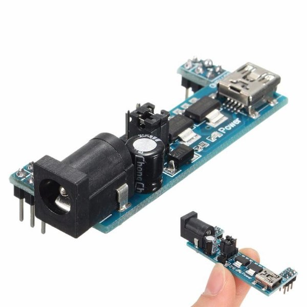 Módulo Fonte para Protoboard MB102