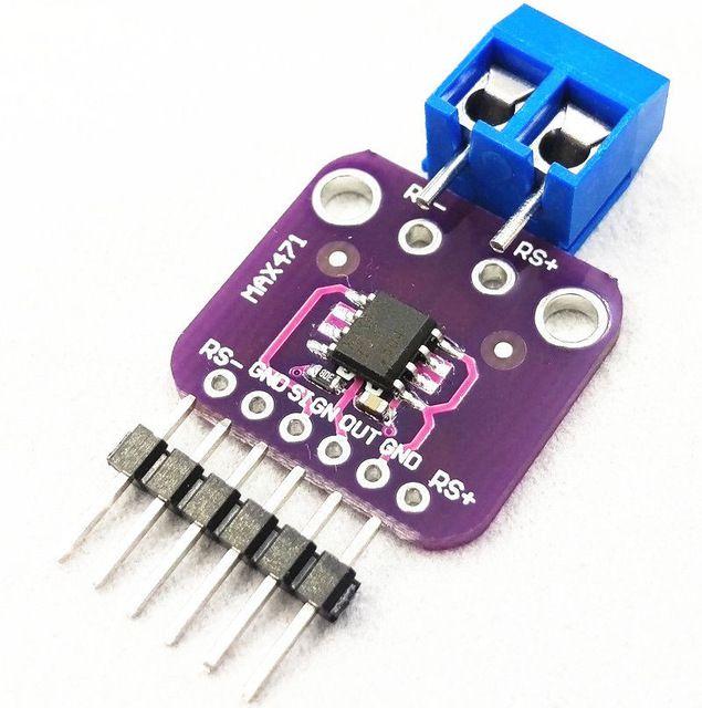 Módulo Sensor de Tensão e Corrente 3A MAX471 GY-471