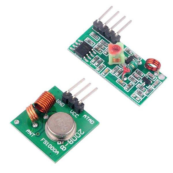 Módulo RF Transmissor + Receptor 315Mhz AM