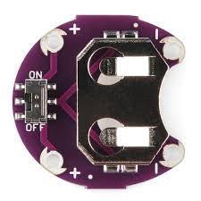 Módulo Suporte Bateria CR2032 Lilypad