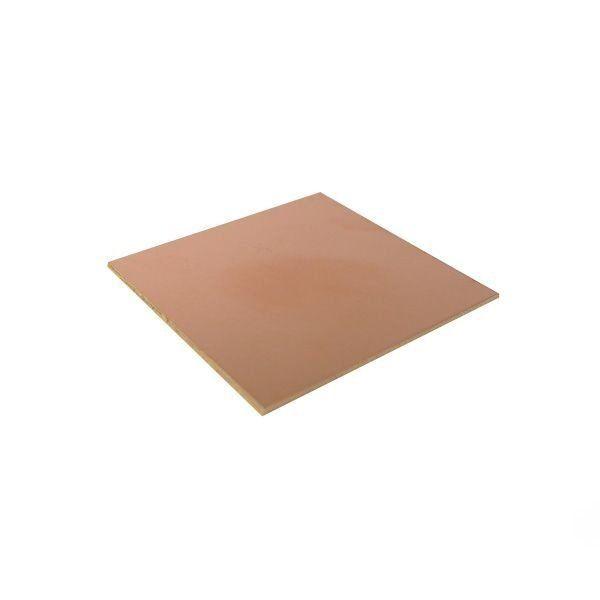 Placa Fenolite Cobreada Face Simples 5x5 cm