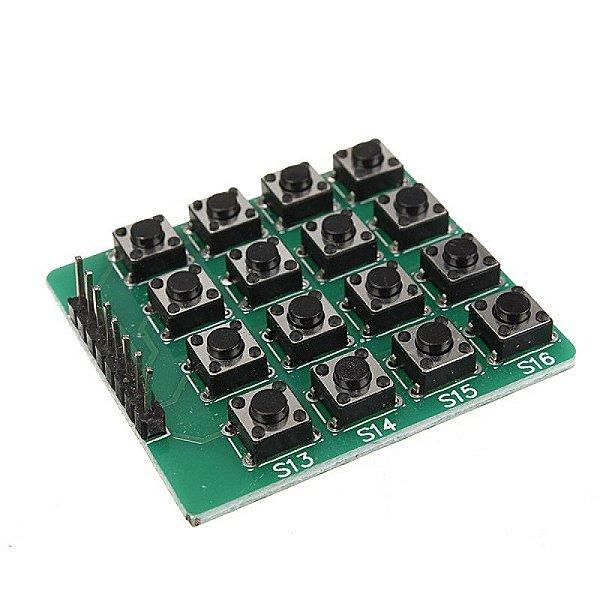 Módulo Teclado Botão 4x4 16 Teclas