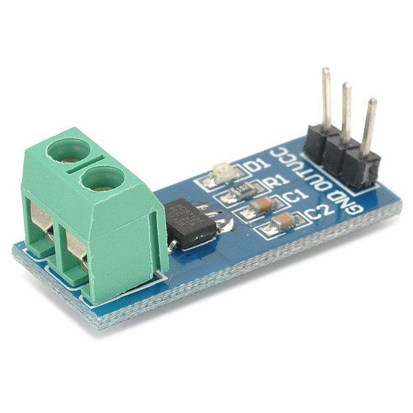 Módulo Sensor de Corrente ACS712 20A
