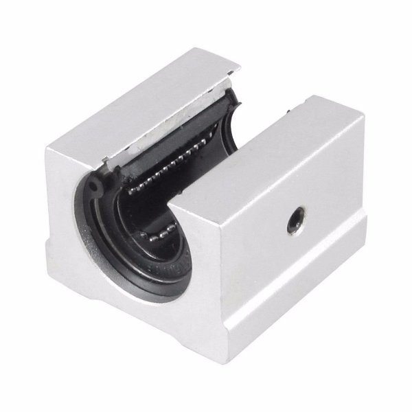 Pillow Block Aberto 16mm SBR16UU com Rolamento Linear