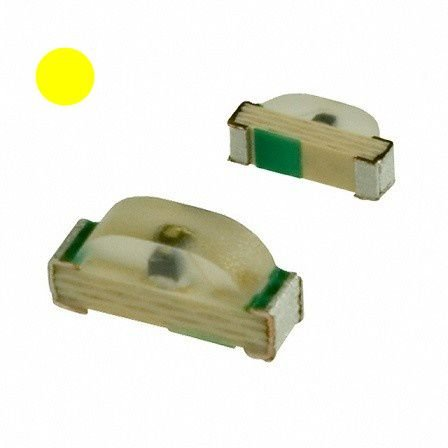 Led Amarelo Smd 0805 - Kit com 10 unidades