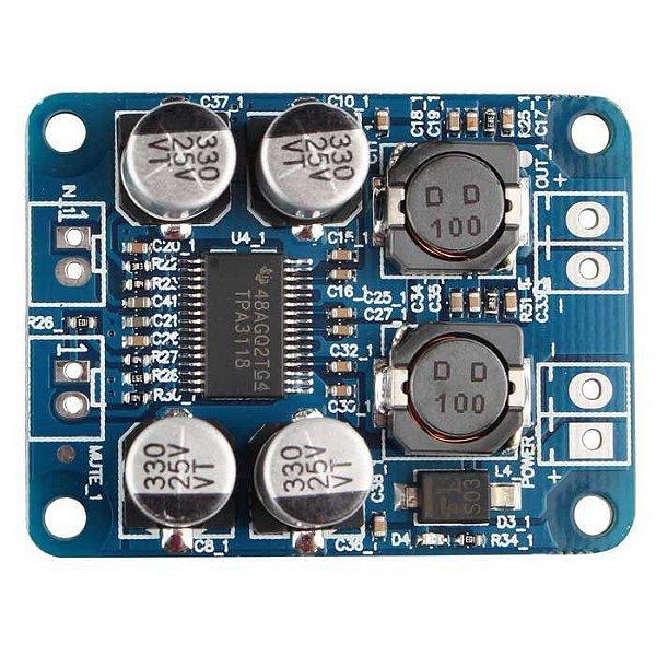 Módulo Amplificador Digital de Áudio Classe D TPA3118 60W