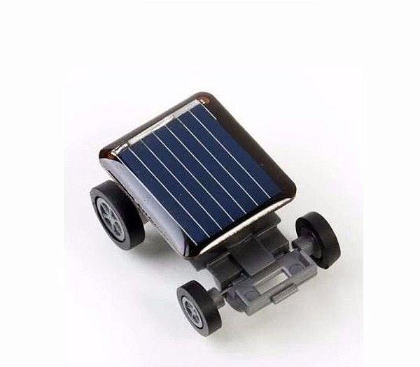 Mini Carrinho Energia Solar