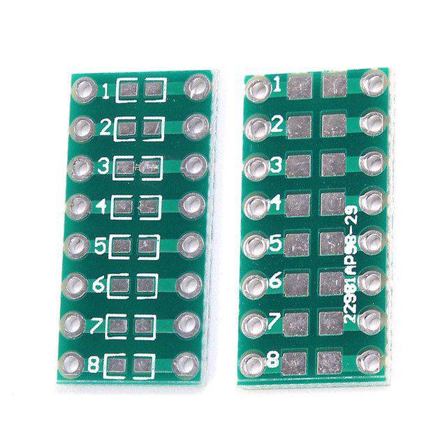 Adaptador DIP-16 para Componentes SMD 0805 0603 0402