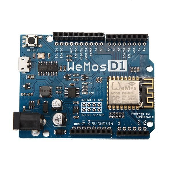 Placa de Desenvolvimento ESP8266 Wemos D1 R2