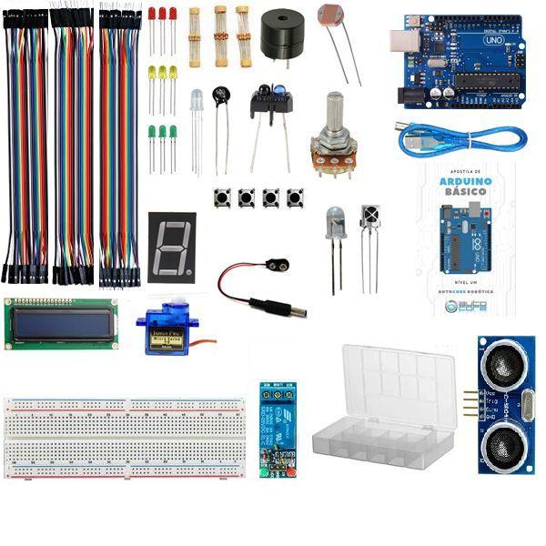 Kit para Arduino Uno R3 Básico Nível Um