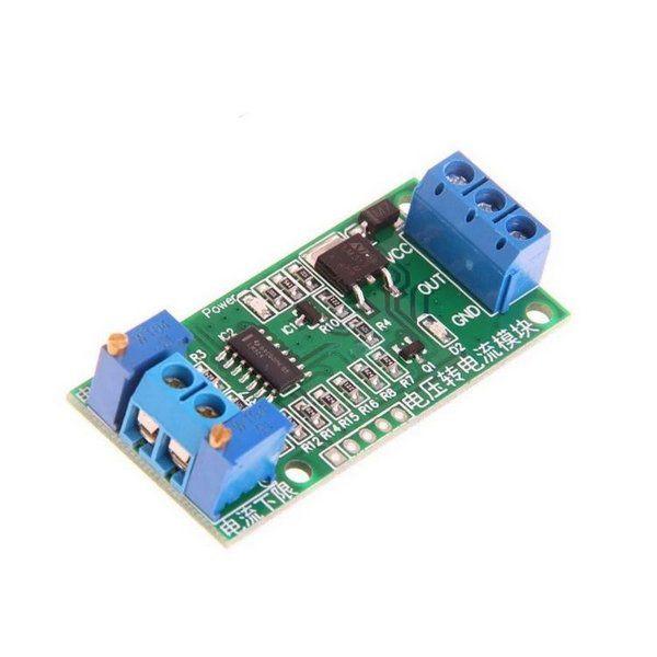 Módulo Conversor Tensão para Corrente 0-5V para 4-20mA
