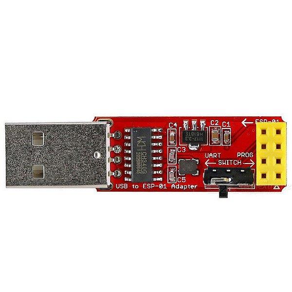 Módulo Adaptador Gravador ESP8266 01