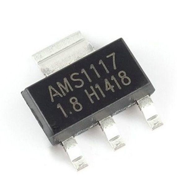 AMS1117 - CI Regulador de Tensão 1.8V