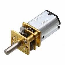 Micro Motor 6V DC N20 100RPM com Caixa de Redução
