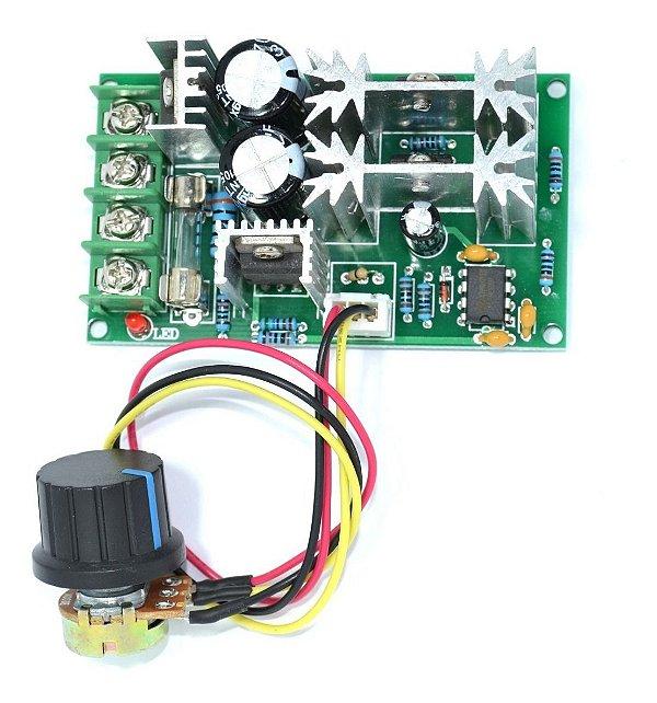 Módulo Controlador PWM 20A 10 a 60V
