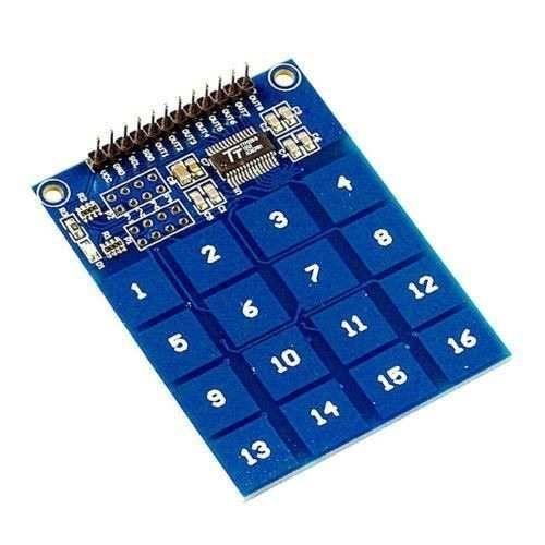 Teclado Touch Capacitivo TTP229