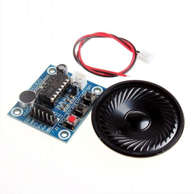 Módulo Gravador e Player de Voz ISD1820 Com Alto Falante