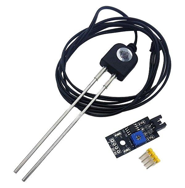 Módulo Sensor Umidade do Solo Resistente à Corrosão