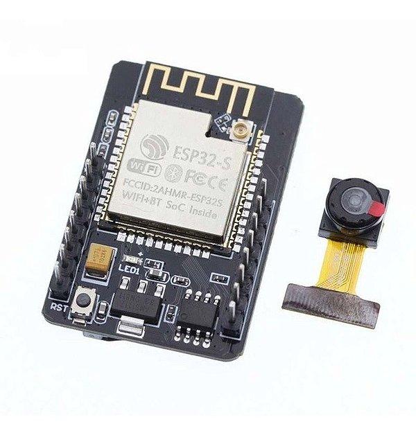 Módulo ESP32-CAM com Câmera OV2640 2MP