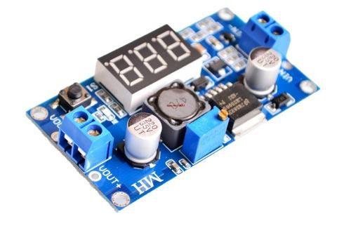 Módulo Regulador de Tensão LM2596 com Display