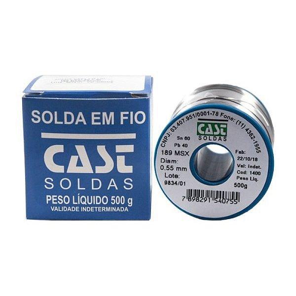 Estanho para Solda Cast Rolo 500g 0.5mm