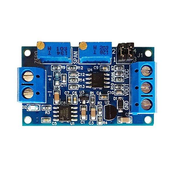 Módulo Conversor Corrente para Tensão 4-20mA para 0-3.3V/5V/10V