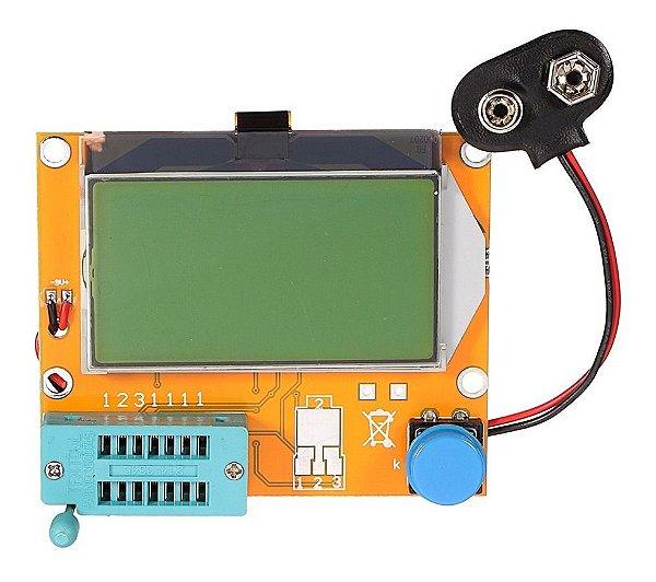 Medidor de ESR (Testador de Componentes) LCR-T4