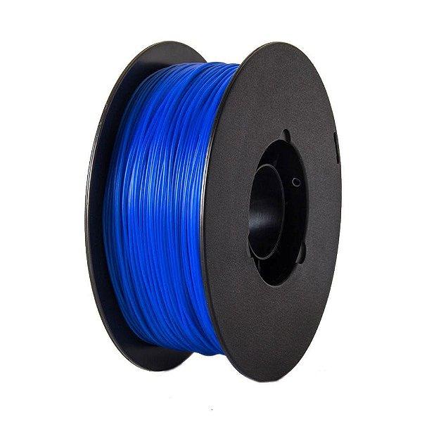 Filamento PLA para Impressora 3D 1.75mm 1Kg Azul