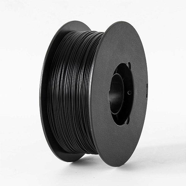 Filamento PLA para Impressora 3D 1.75mm 1Kg Preto
