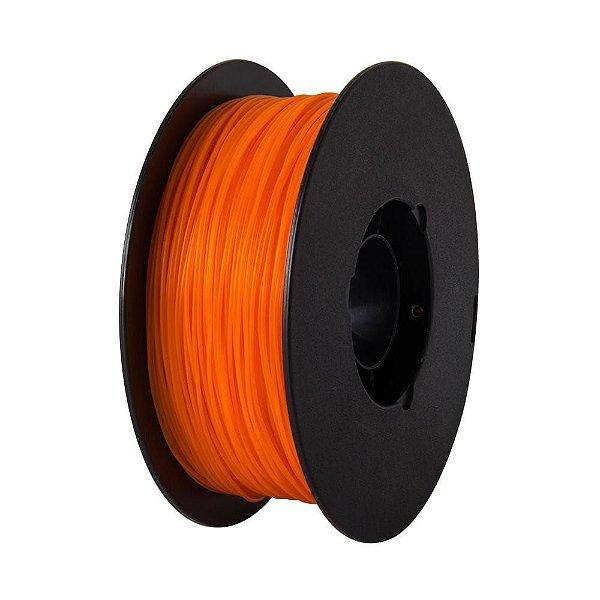 Filamento PLA para Impressora 3D 1.75mm 1Kg Laranja