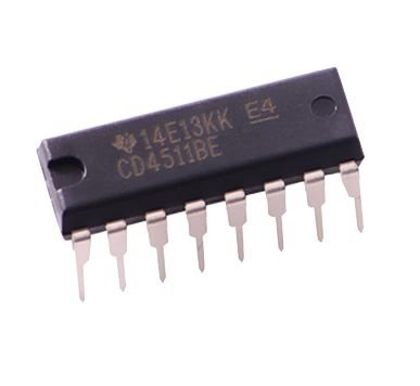 CD4511 -CI Decoder BCD Display 7 Segmentos