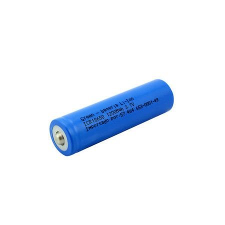 Bateria Li-Íon 3.7V 18650 1200mAh