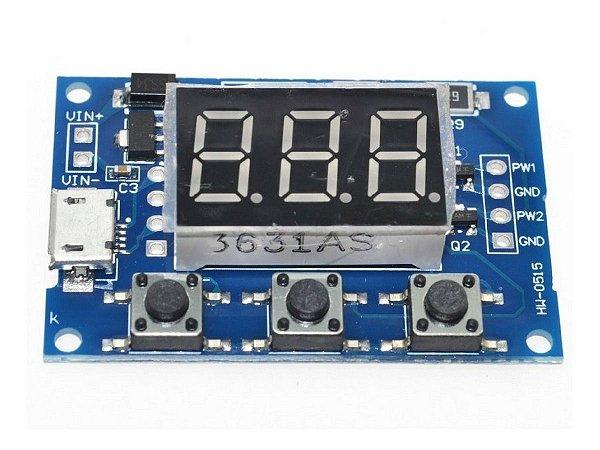 Módulo Gerador de Sinal PWM 2 Canais 1 Hz - 150kHz