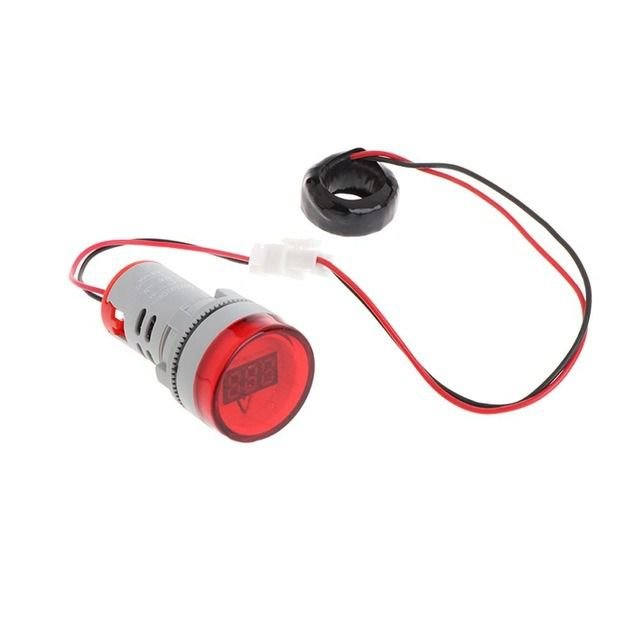 Amperímetro Digital 100A 22mm