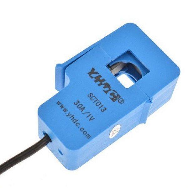Sensor de Corrente Não-Invasivo AC 30A SCT-013