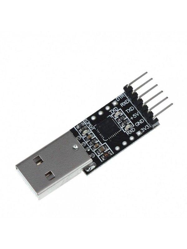Adaptador Usb-Serial Ttl CP2102 6 Pinos