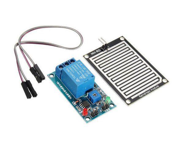 Módulo Sensor de Chuva com Acionamento de Relé