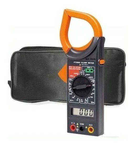 Alicate Amperímetro com Multímetro Digital SC-266
