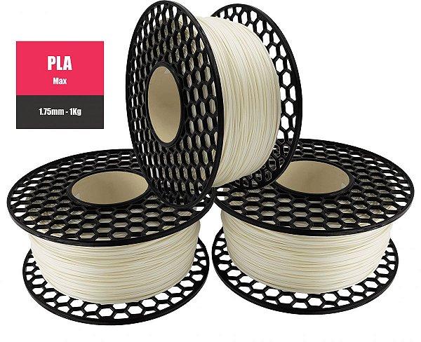 Filamento PLA para Impressora 3D 1.75mm 1Kg Natural