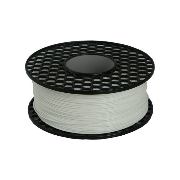 Filamento PLA para Impressora 3D 1.75mm 1Kg Branco