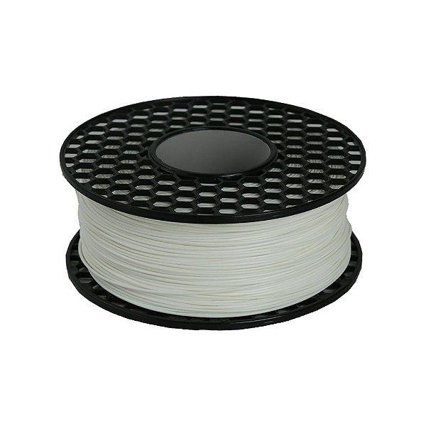 Filamento ABS para Impressora 3D 1.75mm 1Kg Branco