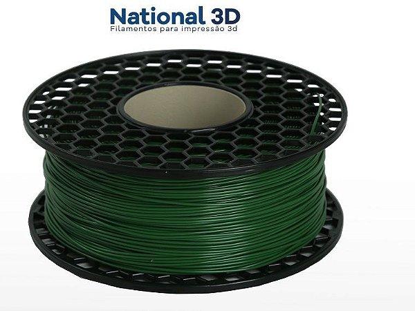 Filamento ABS para Impressora 3D 1.75mm 1Kg Verde Floresta