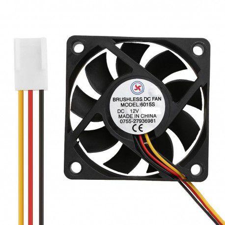 Micro Ventilador Cooler 50x50mm 12V